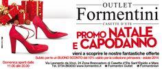 Vi aspettiamo oggi e domani da Formentini Outlet ! :-))) Ricordati di chiedere alla cassa la nostra FIDELITY CARD!!!! www.formentini.it