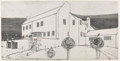 Hill House in Helensburgh is one of Mackintosh's most famous commissions. from: Charles Rennie Mackintosh exhibition showcases work of influential Scottish architect in Scotland Now.