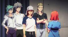 Ai, Ranmaru, Reiji , Camus &  Nanami (Uta no Prince sama)