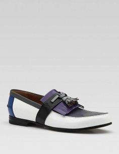 #Gucci Tassel Shoes – Multicolor