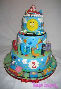 Birthday cake! Pimpa e Barbapapá insieme per festeggiare Giulio!