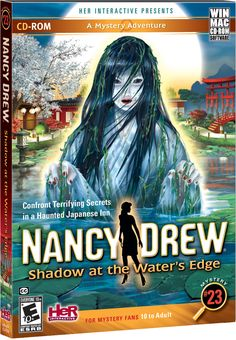 Nancy Drew: Shadow at the Water's Edge computer game. Confront Terrifying Secrets in a Haunted Japanese Inn! http://www.herinteractive.com/Mystery_Games/Nancy_Drew/Shadow_at_the_Waters_Edge/pc