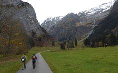Start for the Fürenwand Klettersteig
