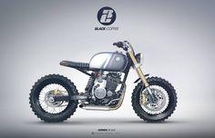 Honda XR600 Street Tracker by Gaëtan Francq #StreetTracker #motorcyclesdesign #diseñodemotos | caferacerpasion.com