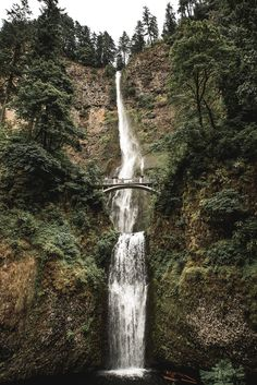 Bridge And Waterfall. This is a fine art print from a limited edition of 10. The image is printed on premium quality paper with ink-jet printing technology. This art print is ready to be framed and perfect for any house, office, or kitchen setting. This photograph is unsigned and unnumbered.