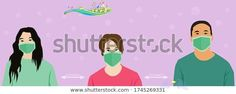 Group People Wearing Medical Masks Prevent Stock Vector (Royalty Free) 1745269331 Find Group People Wearing Medical Masks Prevent stock images in HD and millions of other royalty-free stock photos, illustrations and vectors in the Shutterstock collection.  Thousands of new, high-quality pictures added every day.<br> Masks, Vectors, Royalty Free Stock Photos, Family Guy, Medical, Illustrations, Group, People, How To Wear