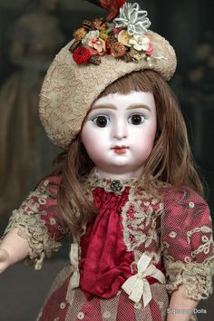 """French Bisque """" Paris Bebe """" by Jumeau"""