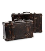 Säilytysmatkalaukut, 2 kpl. Siis matkalaukut joita ei periaatteessa ikuna tarvii purkaan!       <3