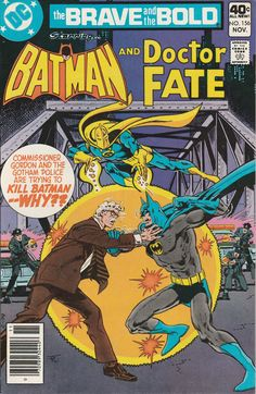 Brave & the Bold Vol. 25 No. 156 1979 Batman and Doctor Fate by TheSamAntics