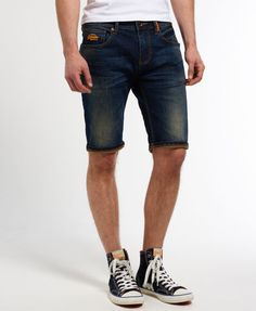 antique vintage Superdry Officer Slim Shorts