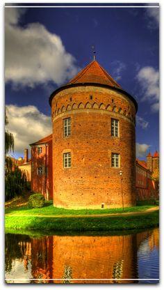 Gothic castle in Lidzbark Warminski, Poland°°