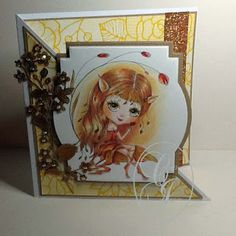 Just Christine's Creations: Julia Spiri Add Some Bling DT card