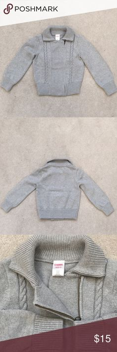 Gymboree girl sweater Gymboree girls sweater, wear only a few times. In great condition. 55% cotton,  45% nylon.   Pet and smoke free environment. welcome to offers. Gymboree Sweaters