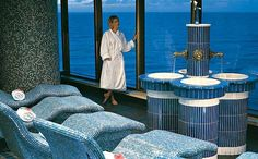 Holland America Zuiderdam Thermal Suite
