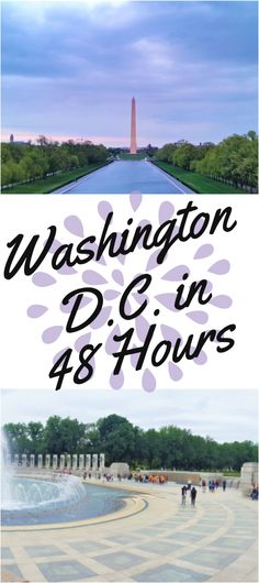 Discovering Washington D. in 48 Hours! Get the scoop on how to explore the best sights and where to get the best food! Usa Travel Guide, Travel Usa, Travel Guides, Travel Tips, Food Travel, Travel Info, Visit Usa, Us Travel Destinations, Us Road Trip