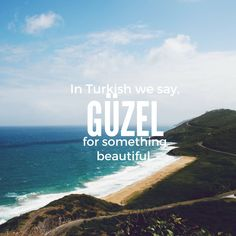 Beautiful Words to Make You Fall in Love with the Turkish Language From the sea and wind to enjoyment and silence, check out some beautiful Turkish words.From the sea and wind to enjoyment and silence, check out some beautiful Turkish words. Turkish Lessons, One Word Quotes, English Vinglish, English Collocations, Learn Turkish Language, Language Quotes, Unusual Words, Aesthetic Words, English Language Learning
