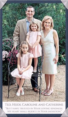 This would make a great first family. We don't need another Bush or another Clinton: