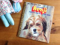 1979 Little Golden Book. Benji. Fastest Dog in the West. Vintage Children's Book. Second Printing. Collectible. by AntVillage on Etsy
