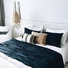 Coastal inspired rooms of our stockist Casa Cook Rhodes...to find your nearest stockist pop over to thebeachpeople.com.au/stockists/ http://www.jetradar.fr/flights/Greece-GR/?marker=126022.viedereve