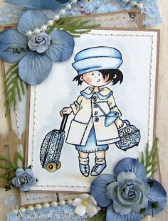 Scrap Cards by Marlies: Snoesje on holiday