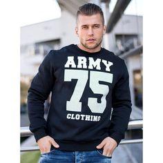 Pánská moderní mikina sportovní Army, Graphic Sweatshirt, Sweatshirts, Sweaters, Fashion, Gi Joe, Moda, Military, Fashion Styles