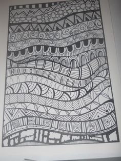 zentangle basics patterns for kids - Google Search