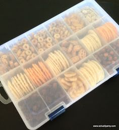 Road trip snack box for kids