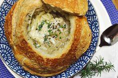 Sopa de Cebola no Pão Italiano_F&F