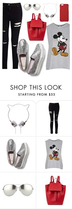 """❌NO❌"" by beauty-from-ashes ❤ liked on Polyvore featuring Miss Selfridge, Keds, Topshop, Linda Farrow, Mansur Gavriel and Maison Takuya"