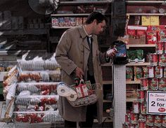 Castiel with His Wings. Just trying to buy some TP and beer... Poor Cas lol
