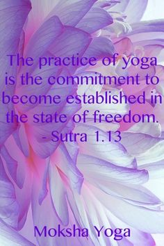 The sutras. Yoga.