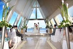 The perfect ceremony at the @Conrad O'Dwyer Bali Infinity Chapel.
