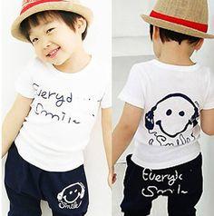 IN-STOCK-Girl-Boy-Clothing-Sets-Baby-Summer-Wearing-Kids-Cartoon-Clothes-Wears-t-shirt-pants.jpg (684×691)