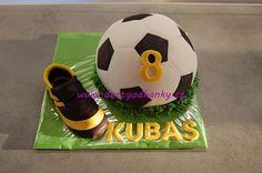 Fotbalový dort