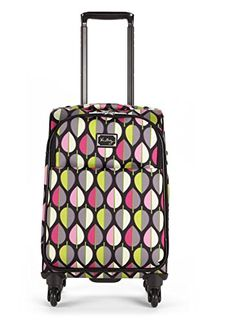 Vera Bradley 22 Spinner Rolling Luggage in Moon Drops -- More info could be found at the image url. (This is an affiliate link)