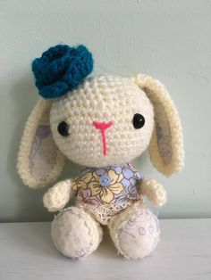 Handmade Toys, Hello Kitty, Bunny, Arts And Crafts, Unique Jewelry, Character, Etsy, Vintage, Cute Bunny