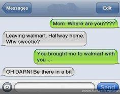 Mom, where are you