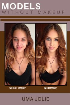 MODELS WITHOUT MAKEUP - Erotic model Uma Jolie is only 21 years old. Made up, she looks much older but when this model is off duty, she looks like the young girl she is! Models Without Makeup, Get Instagram, 21 Years Old, Models Off Duty, Erotic, Make Up, Nude, Beautiful, Photos