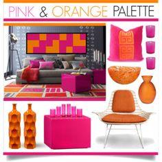 Pink & Orange Palette