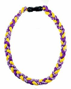 """Choose Your Size 24/"""" and 20/"""" Tornado Twist Titanium Sports Baseball Necklace"""