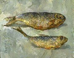 C r e a t i v e W o n d e r: August 2011 Ann Wood, Fish, Paintings, Art, Art Background, Paint, Painting Art, Kunst, Painting