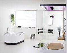 Дизайн ванной в стиле модерн. #ванная_комнат_в_стиле_модерн #душевая_кабина