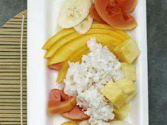 Kokos-Milchreis mit exotischen Früchten | Kalorien: 374 Kcal - Zeit: 40 Min. | http://eatsmarter.de/rezepte/kokos-milchreis-mit-exotischen-fruechten