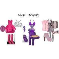 """Nicki Minaj"" by ashley-nicole-parris on Polyvore"