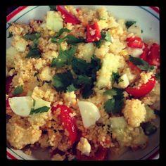 Salade de couscous menoum ... Healty food