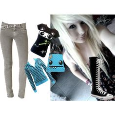 Cute Emo Outfits | cute emo outfit - Polyvore