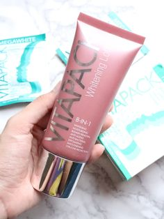 Vitapack Megawhite Capsules and Whitening Lotion Review + Giveaway   Makeup in Manila