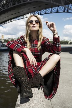 ☆ Rock 'n' Roll Style ☆ Maria, fashion editor/blogger | Moscow Man with a camera