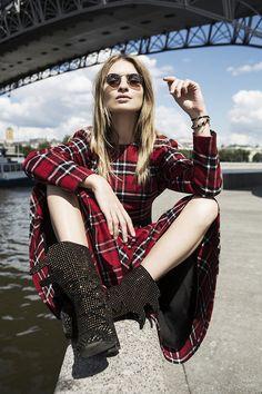 Maria, fashion editor/blogger | Moscow Man with a camera