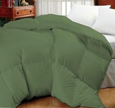 Super Oversized-High Quality Down Alternative Comforter-Sage